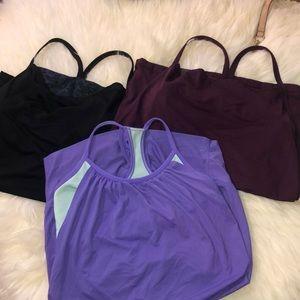 Lot lululemon 🍋 3 blouses